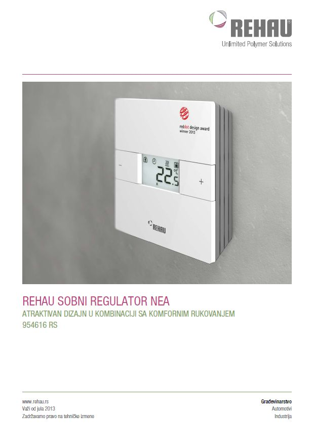 Rehau-Nea-Smart-Sobni Regulator