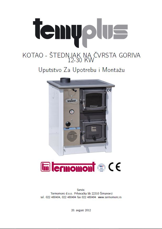 Termomont-Temy-Uputstvo